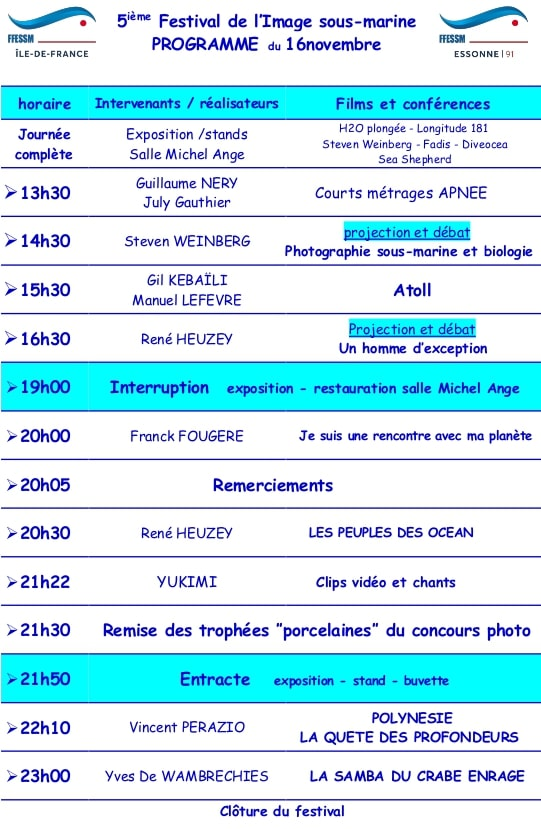 Programme 2019 tract verso